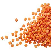 Bio TK-Karotten gewürfelt 10x10mm 10 kg