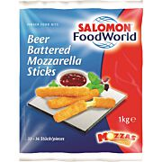 BeerBattered Mozzarella Sticks 1 kg