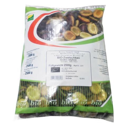 Bio TK-Zwetschken halbiert 2,5 kg